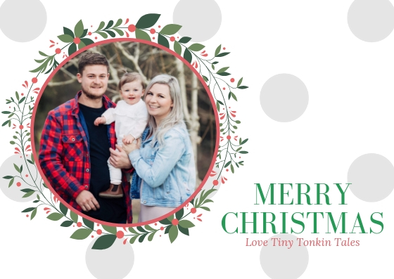 Family Photo Christmas Greeting Card (2)